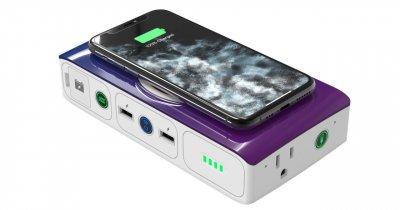 Bateria externă care-ți încarcă telefonul și-ți pornește mașina