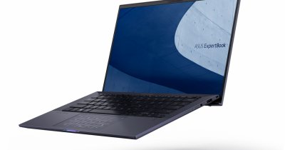 ASUS lansează ASUS ExpertBook B9, dedicat profesioniștilor în afaceri