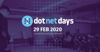 Dotnetdays 2020 Iași: conferința programatorilor .Net