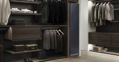 Samsung lansează dulapul care usucă și elimină bacteriile din haine