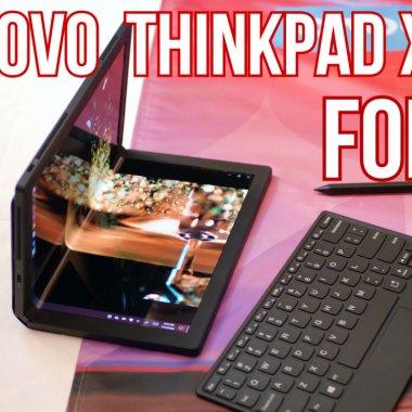 HANDS ON Lenovo Thinkpad X1 Fold - cum este primul PC pliabil din lume