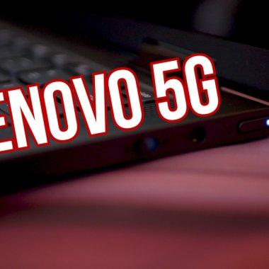 Hands On Lenovo Yoga 5G: Un laptop cu baterie de 24 de ore