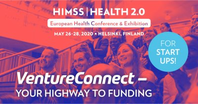 HIMSS Europe announces the new edition of VentureConnect