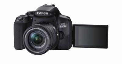 Canon lansează camera Canon EOS 850D, un DSLR pentru pasionații de fotografie