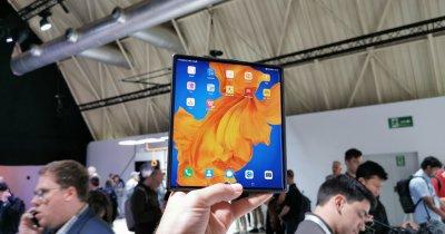 Huawei lanseză telefonul pliabil Mate Xs, succesorul lui Huawei Mate X
