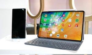 Huawei Mate Pad Pro 5G, prima tabletă cu încărcare wireless