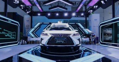 Toyota pune 400 de milioane de $ în Pony.ai, un startup de mașini autonome