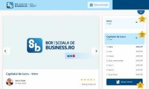 BCR Școala de Business - lansarea programului de educație antreprenorială
