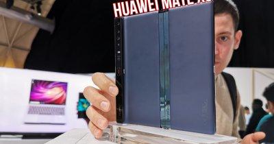 HANDS ON Huawei Mate Xs: poate a doua oară e cu noroc
