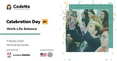 Comunitatea Codette: femeile din tech se reunesc la Celebration Day