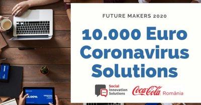 Coronavirus | Future Makers, 10.000 de euro pentru soluții de inovare socială