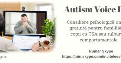 Coronavirus | Autism Voice Line – consiliere psihologică online gratuită