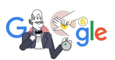 Google Doodle: Doctorul Ignaz Semmelweis și beneficiile spălatului mâinilor