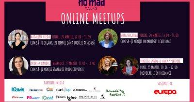 NO.MAD Talks se mută în online: întâlniri digitale pentru freelanceri