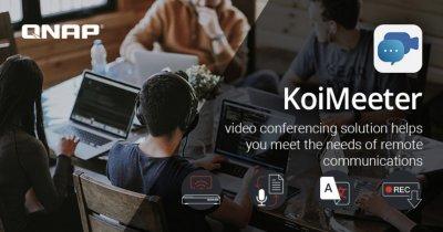 Soluție de conferințe video gratuită oferită în perioada aceasta de QNAP
