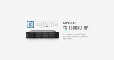 QNAP a lansat soluția NAS TS-1886XU-RP pentru aplicații enterprise