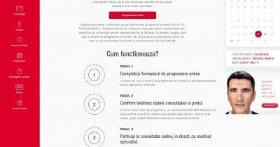 Coronavirus | Clinica Virtuală, o platformă de telemedicină de la REGINA MARIA