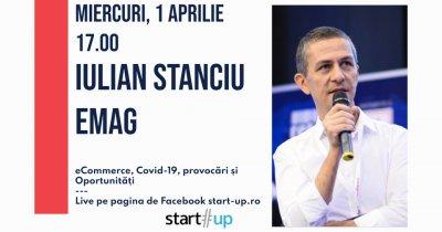 Webinar: Iulian Stanciu, eMAG: Soluții pentru ecommerce și încotro mergem?