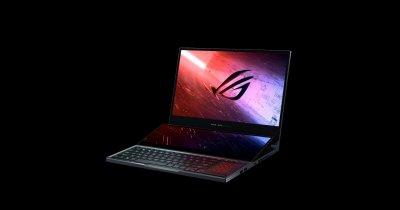 ASUS ROG Zephyrus Duo - Laptop de gaming cu două ecrane, răcire cu Liquid Metal