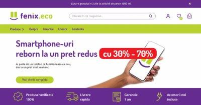 Fenix.eco, startupul românesc similar Flip.ro, vinde telefoane SH recondiționate