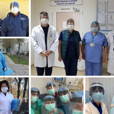 Viziere.ro a donat peste 100.000 de protecții medicilor. Care sunt planurile