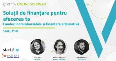Webinar: Finanțări nerambursabile și soluții alternative pentru cash