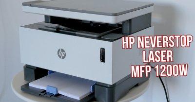 HP Neverstop Laser MFP 1200w - imprimantă laser pe care o vrei la birou
