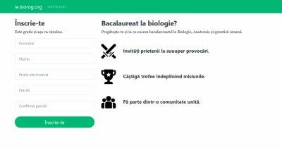 Bacalaureat Biologie: doi elevi din Bârlad au făcut un site de pregătire online