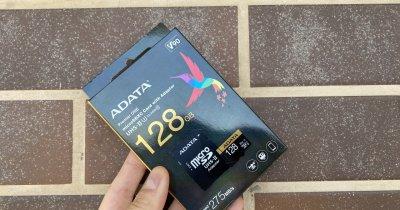 ADATA Premier One microSDXC - cardul mic pentru înregistrări video 4K