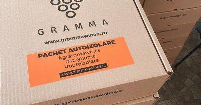 Succes în pandemie pentru crama Gramma din Iași cu pachetele de autoizolare