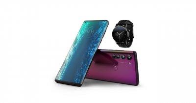 Noul Motorola Edge 5G, disponibil la precomandă: ceas Moto 360 cadou
