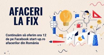 Afaceri la Fix continuă: înscrie afacerea și noi îți dăm o oră pe Facebook