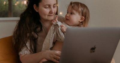 Munca de acasă pentru părinți: o sarcină dificilă pentru jumătate din angajați