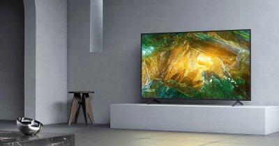 Televizoare smart Sony 4K: prețuri pentru noua gamă LCD 4K HDR în România