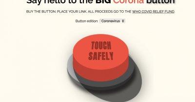 Doi români au făcut un... buton online unde donezi pentru Covid-19