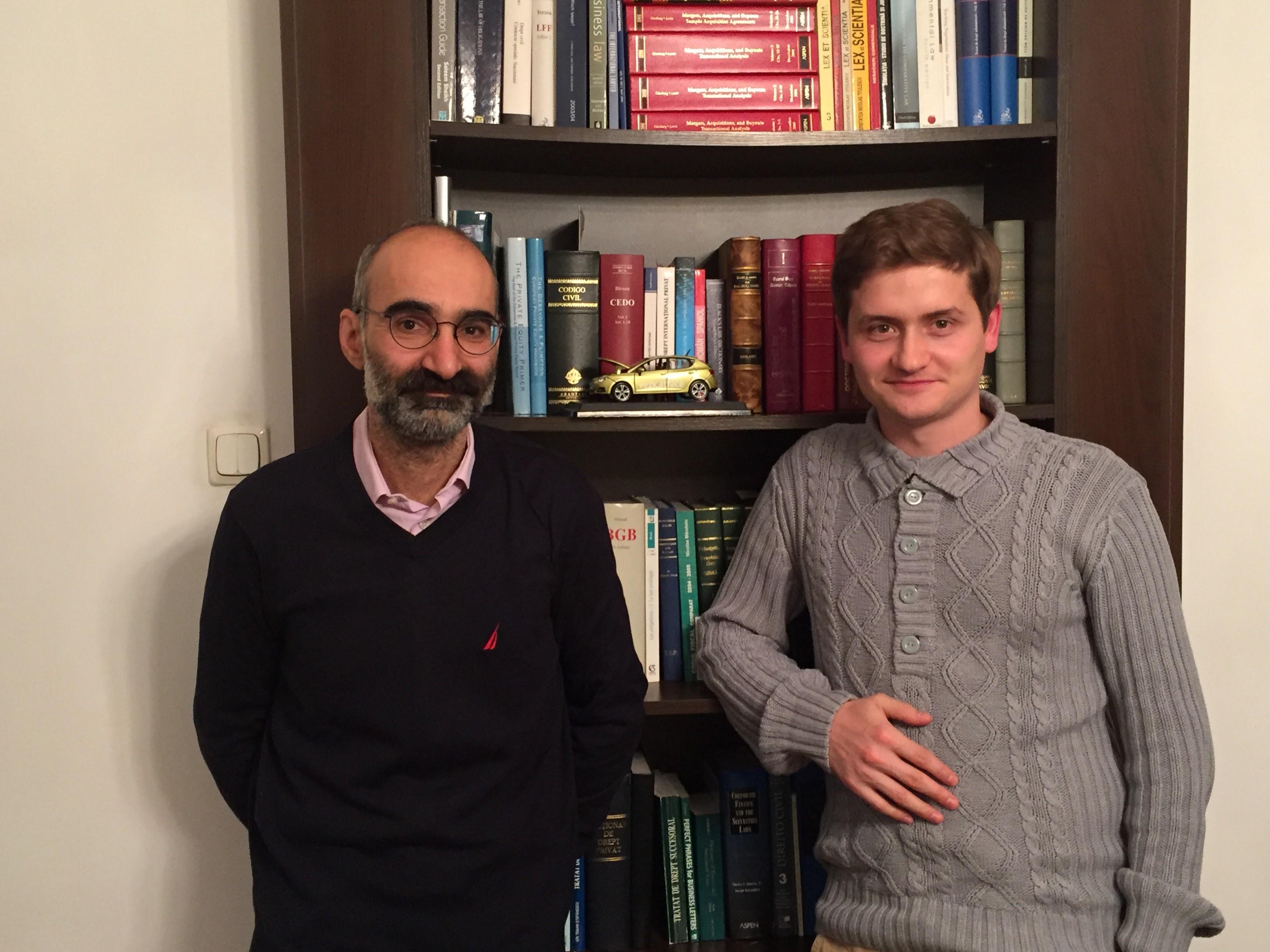 Daniel Enescu și Alex Govoreanu
