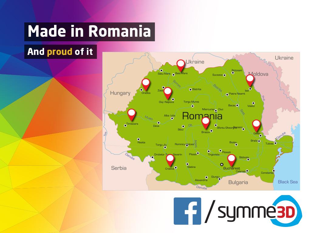 Symme3D are furnizori în toată România