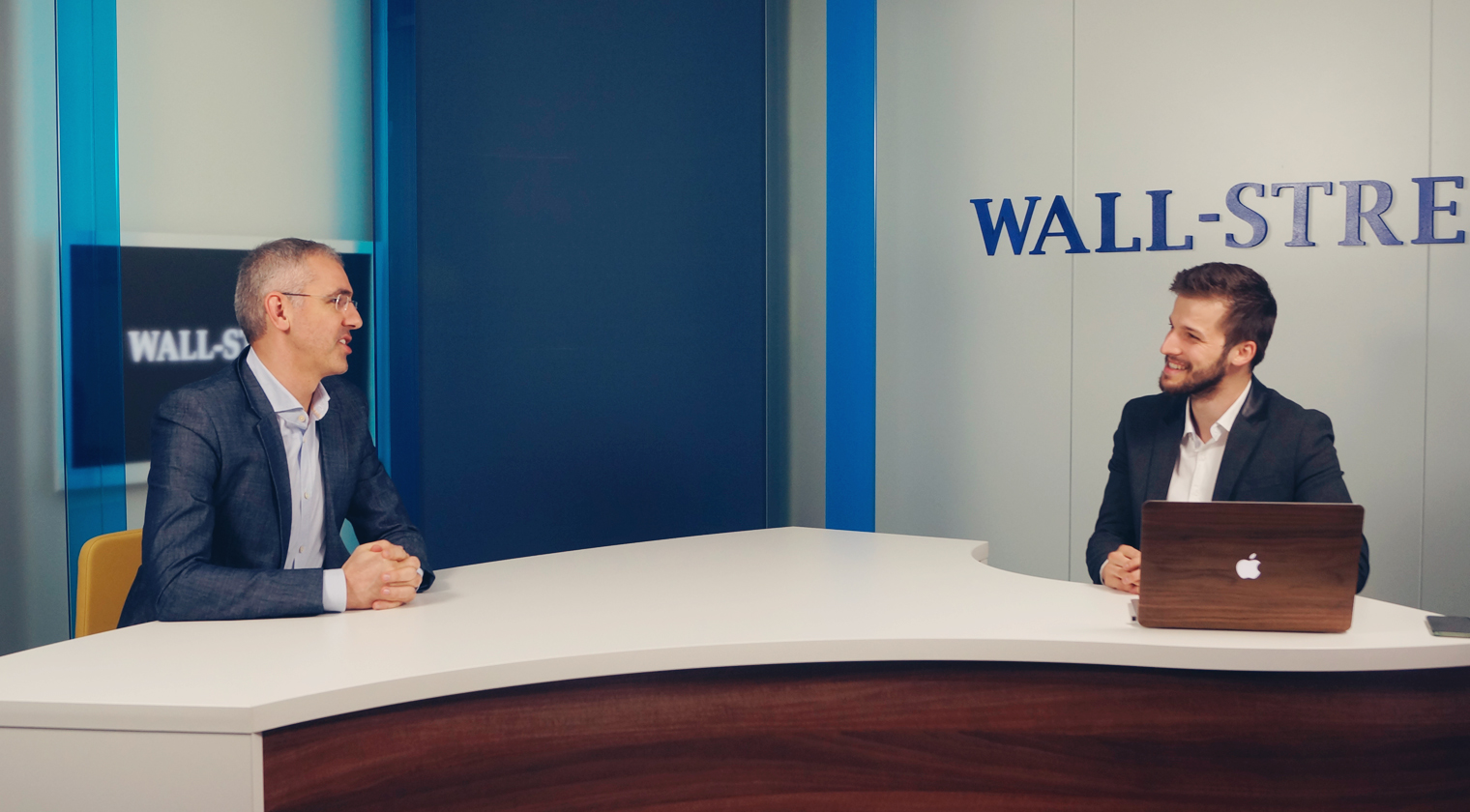 Bogdan Georgescu și Vlad Andriescu la Wall-Street 360