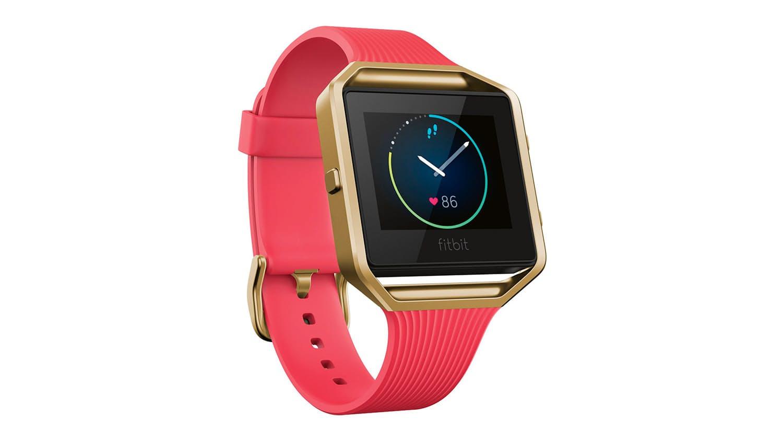 fitbit blaze gold smartwatch pentru femei wearables