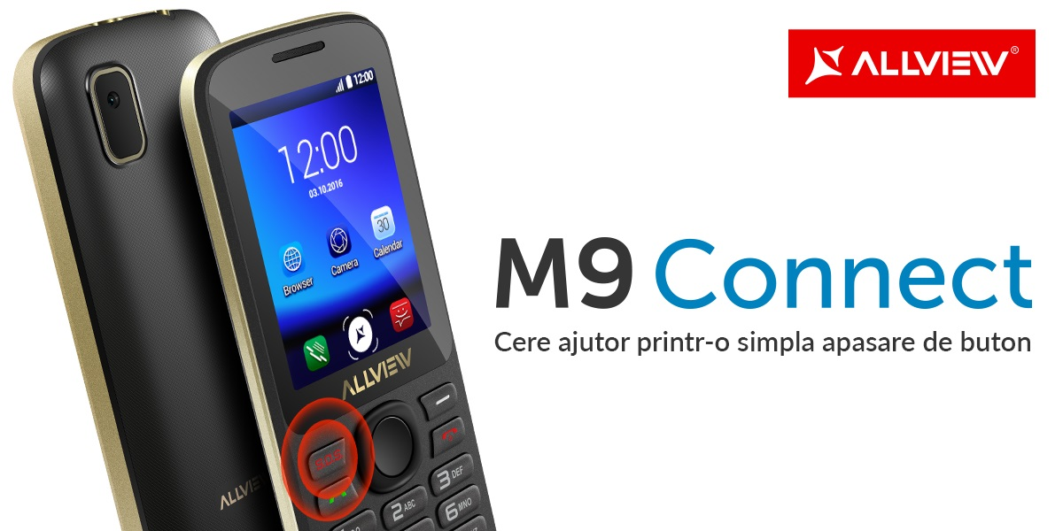 M9 Connect allview feature phone telefon mobil
