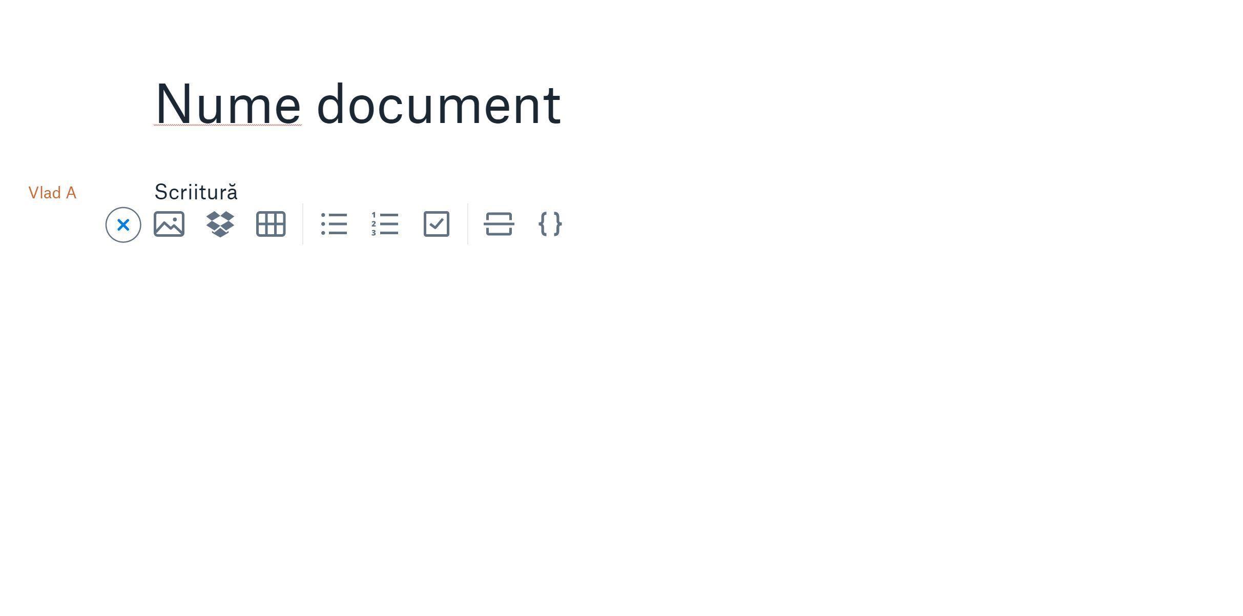 dropbox paper google docs documente online