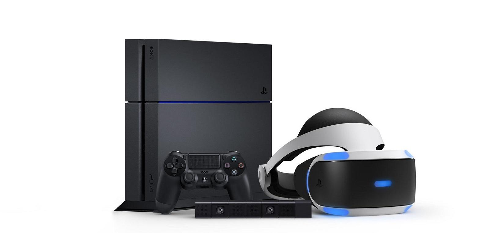 playstation 4 vr consola gaming lansare joc
