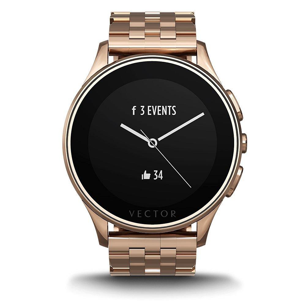 vector luna gold smartwatch pentru femei wearables