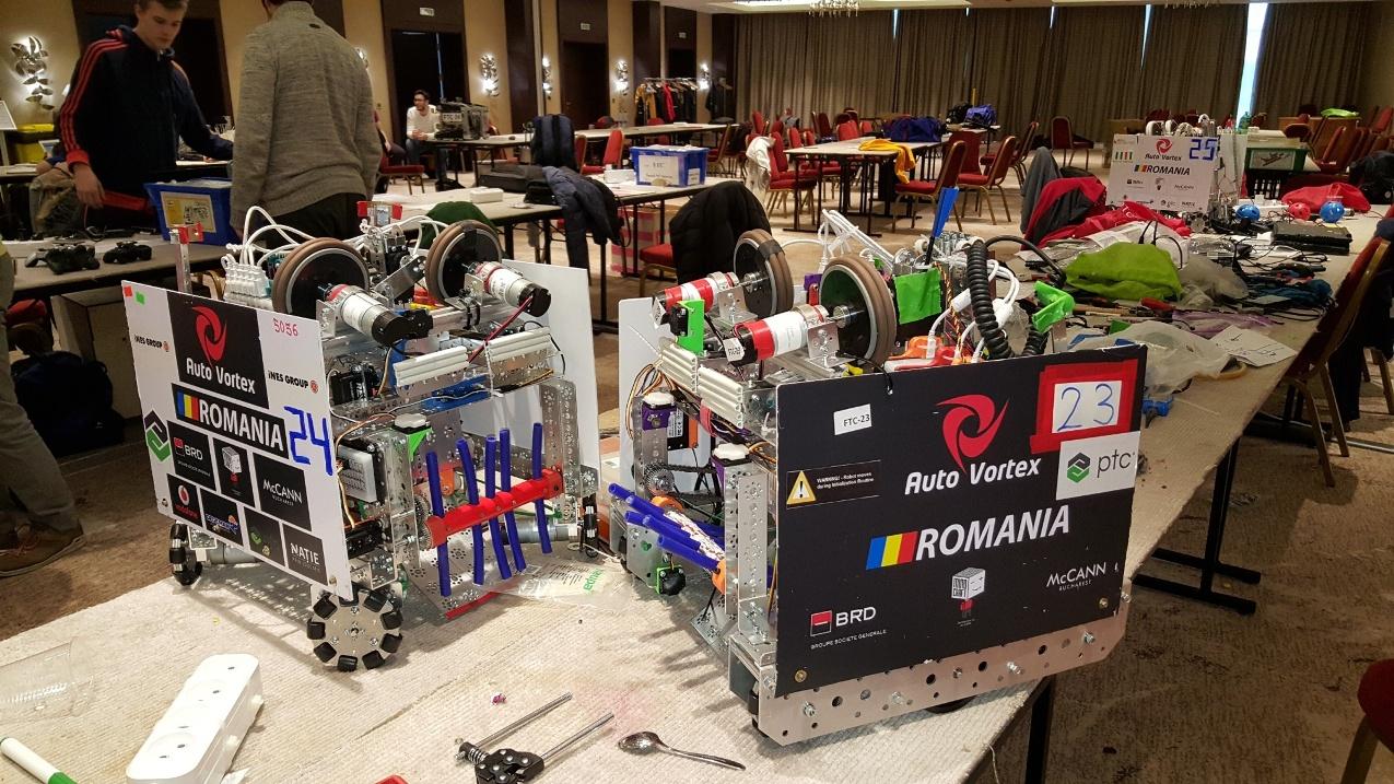 AutoVortex elevi romania robotica competitie roboti