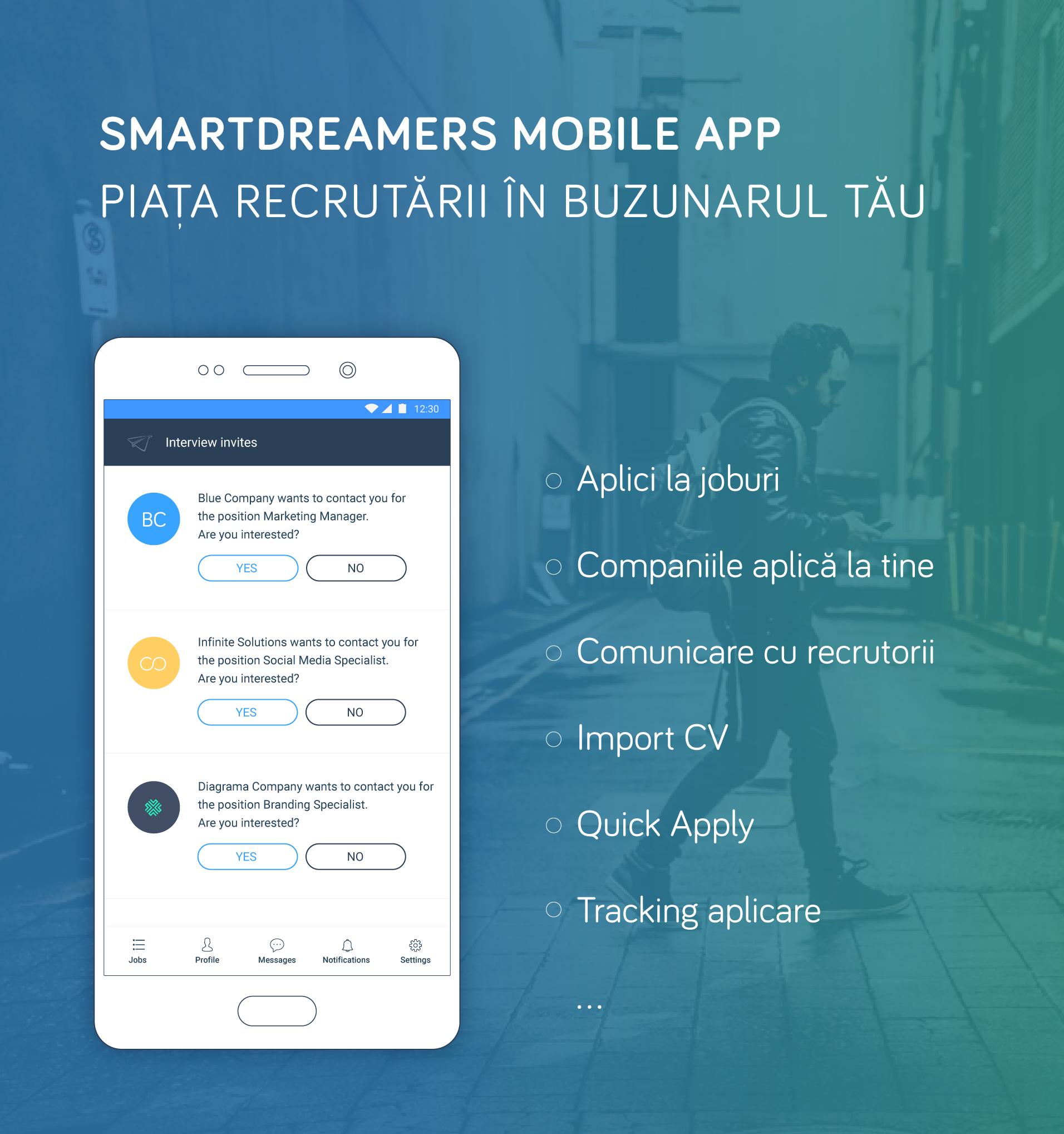 smart dreamers mobile app