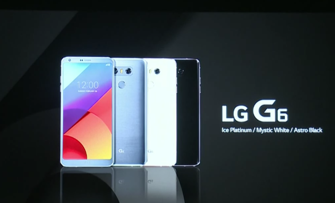 lg g6 smartphone mwc 2017