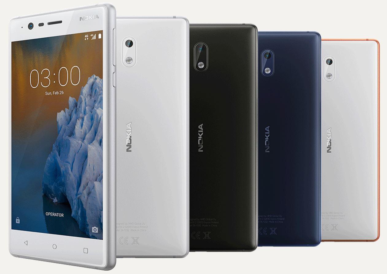 nokia 3 smartphone mwc 2017