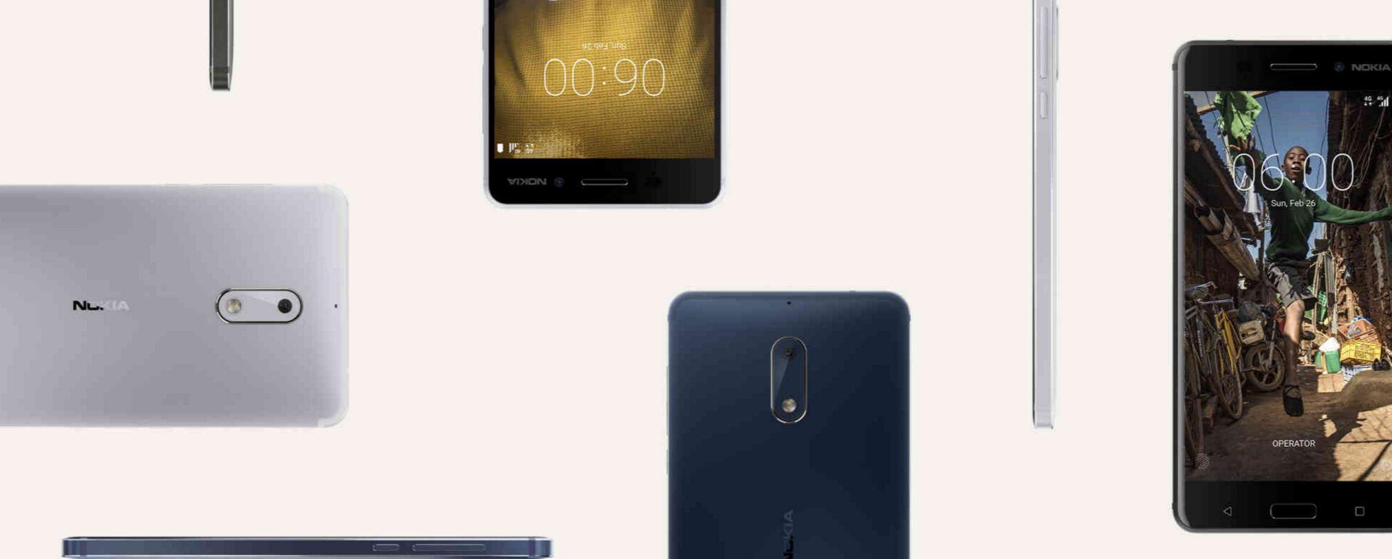 nokia 6 smartphone mwc 2017