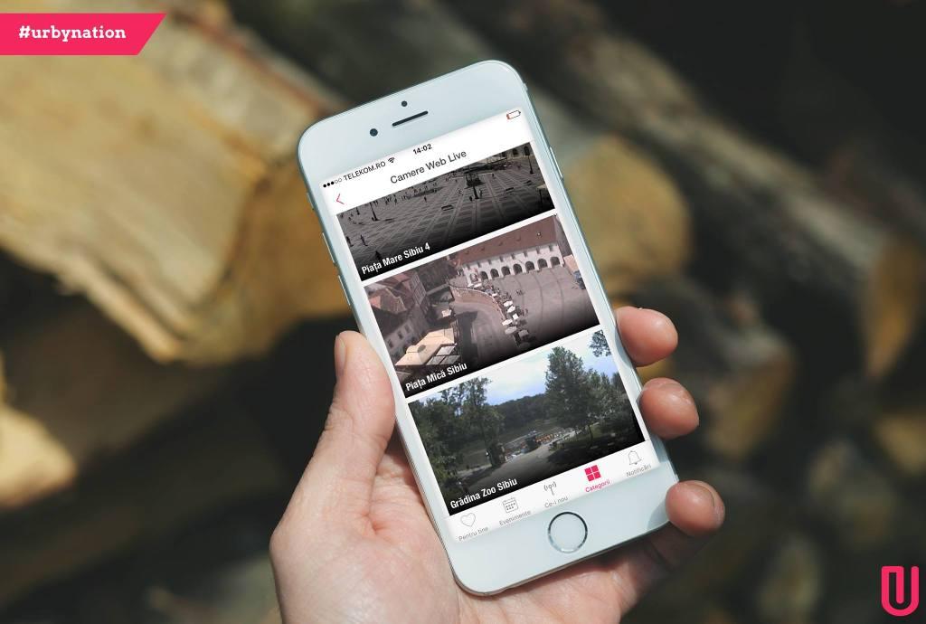 urby app sibiu startup aplicatie eventya